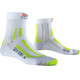 X-Socks M's Sky Run 2.0 Socks White/Green Lime